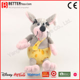 Rato macio do luxuoso do brinquedo do rato do animal enchido do presente para miúdos