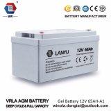 La valvola ha regolato la batteria acida al piombo 12V 65ah dell'UPS