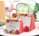 Bolsa de papel portable de la confitería de la boda europea creativa de Hotsale