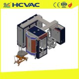 PVD 시계 회중시계 딱지 또는 시계 다이얼을%s 까만 파란 금 진공 코팅 기계