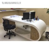 Скажите мир Semi вокруг мебели стола CEO стола офиса