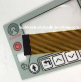 Rétroéclairage LED de la fabrication de contrôleur de point d'argent interrupteur à membrane