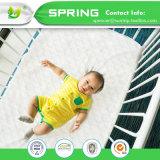 杭州の織物の細菌の防水赤ん坊のマットレスの保護装置カバー