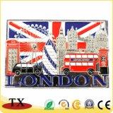[أوك] لندن بلد سياحة تذكار معدن براد مغنطيس