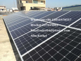 Mono painel solar solar de energia 240W para a iluminação do diodo emissor de luz