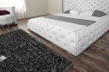 Кровать европейского типа самомоднейшая кожаный для домашней мебели