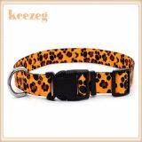 Collares de perro del gato de la impresión de la transferencia de Keezeg, correos que corresponden con por separado (KC0097)