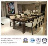 Hölzerne Esszimmer-Möbel-Sets für Stern-Hotel (W-M-06) vereinfachen