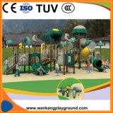 De grote OpenluchtApparatuur van Speelplaatsen voor de Speelplaats van de School (week-A1019c)