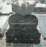 Grafsteen van de Cherubijn van de Engel van het Graniet van Bahama de Blauwe