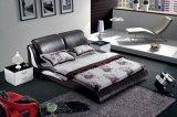 Schlafzimmer-Möbel-Leder-Bett (SBT-5845)