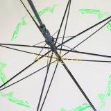 نمو شفّافة [بو] مظلة, مظلة مستقيمة