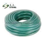 PVC螺線形の鋼線の補強されたホース透過PVC管