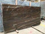 El Jade de granito marrón de baldosas pulidas losas&+encimera