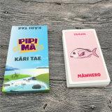 Tarjetas de juego educativas inglesas a estrenar de encargo de tarjetas