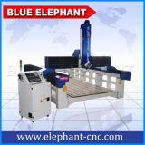 Eixo 4 máquina de esculpir madeira CNC Elé1935 Tamanhos de trabalho grande 3D Gravura Máquina Router CNC