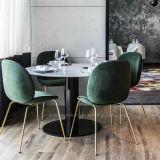 Restaurante Café Metal moderno mobiliário para mesa e cadeira fixa