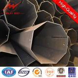distribution 2.5kn Pôle en acier galvanisée octogonale de 8m de service