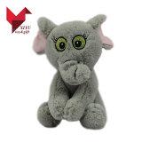 ICTI de vente chaud apure la peluche de constructeur d'OEM/ODM et les jouets bourrés d'éléphant avec de grandes oreilles