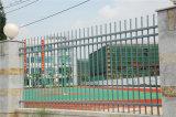 Garantie résidentielle industrielle grise élégante clôturant 15-9
