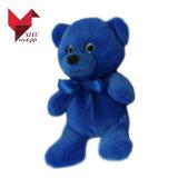Belle couleur bleue Fat géant ours en peluche un jouet en peluche