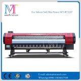 Mt 2018 Boa qualidade impressora de jacto de tinta de grande formato Solvente ecológico para impressora de filme macio Mt-Softfilm3207