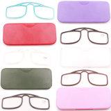 De hete Glazen Goedkope Promotie Oudere Eyegalsses van de Lezing van de Verkoop Mini
