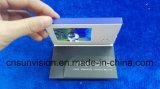 """2.4 """" LCDのパンフレットのポケットが付いているビデオ商号のカード"""
