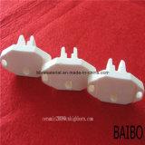 Blanco resistente al desgaste de piezas de cerámica de ZRO2