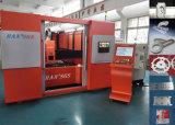 машинное оборудование вырезывания лазера волокна 700W, резец лазера для металла