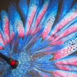 يعكس مظلة [ك] مقبض [دووبل لر] نقطة إيجابيّة صامد للريح طليق يد - مظلة عكسيّة إلى أسفل