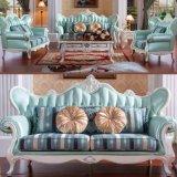 حقيقيّ جلد أريكة مع خشبيّ أريكة إطار (510)