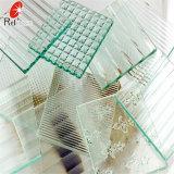 de Rode Voorgesteld/Gevormd Flora van 4mm 5mm Glas