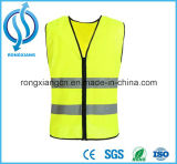 Hohe Sicht, die reflektierende Sicherheits-Kleidung der Safetly Weste-En471 bearbeitet