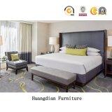 Precios baratos de la cadena de fabricante Motel Hotel de contrato de venta de muebles de dormitorio en suite (HD1306)