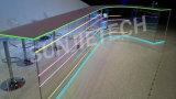 Profilo flessibile dell'alluminio LED per l'indicatore luminoso di striscia del LED con le protezioni e le parentesi di estremità