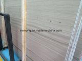 大理石の灰色のSerpenggiante/アテネの木製の穀物の大理石のタイルの平板をカスタマイズしなさい