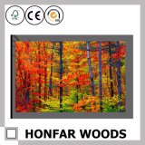 Frameless Kunst-Farbanstrich über Baum für Stab oder Dinning Raum-Dekor