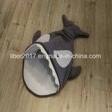 Base lavabile dell'animale domestico del cane di figura del pistone dell'animale domestico della base del gatto poliestere tagliente della base del piccolo