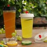 De duidelijke Transparante Douane drukte Beschikbare Plastic Koppen af