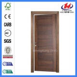 Porta nivelada interior do MDF da construção de madeira moderna de madeira de HDF (JHK-001)