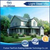 Moderno diseño Estructura de acero de la luz de casa prefabricada de vocación