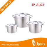 Jp-AL03 de aluminio resistente Ollas olla de aluminio