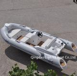 Barco de la costilla de la fibra de vidrio del barco de placer de Liya 14feet para la pesca