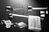De muur zette de Nieuwe Vierkante Toebehoren van de Badkamers van de Houder van de Borstel van het Toilet van het Roestvrij staal van Inox van de Stijl op