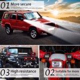 Guide optique de l'automobile le plus neuf 4X4 60W 3 du travail des rangées 4inch DEL