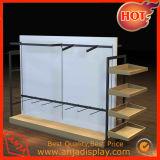 Élément en bois de meubles d'étalage de vêtement pour le système