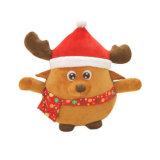 2017 conveniente para el regalo y la decoración de la muñeca luminosa y sana de la Navidad