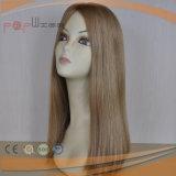 Peluca de gama alta del pelo humano del trabajo (PPG-l-0483)