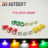 파란 노란 빨간 백색 녹색 자동차 LED 전구 194 W5w